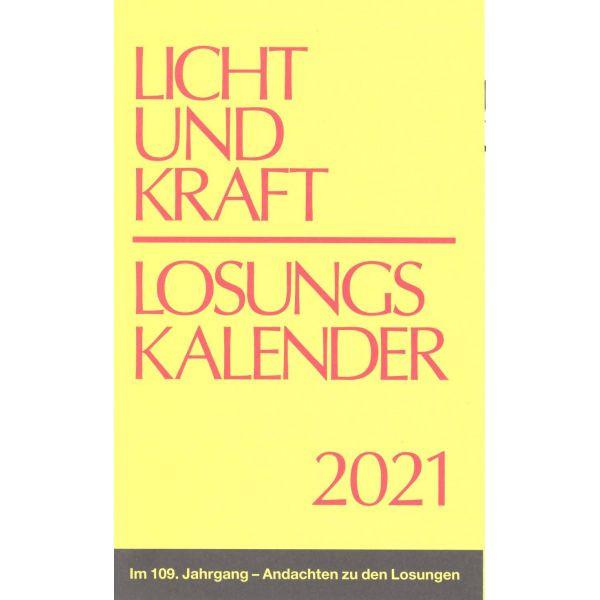 Licht und Kraft 2021, Reiseausgabe