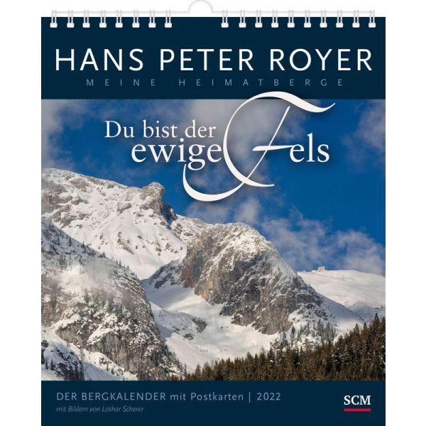 Der Bergkalender 2022 - Postkartenkalender HP Royer