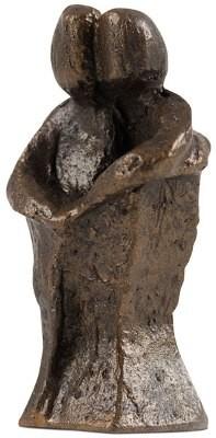 """Figur """"Paar"""" - bronzefarben"""
