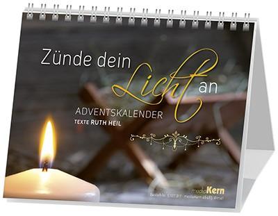 Zünde dein Licht an - Adventskalender (Ruth Heil)