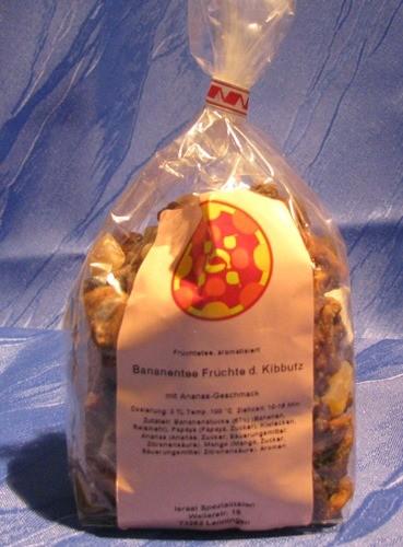 """Bananentee """"Früchte des Kibbutz"""""""