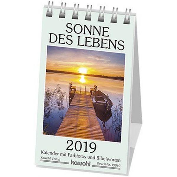 Sonne des Lebens 2019 (Minikalender)