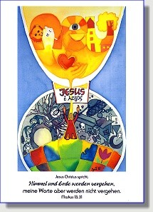Postkarte zur Jahreslosung 2004