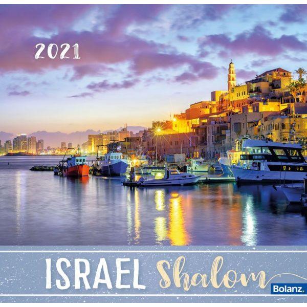 Israel Shalom 2021 - Tischkalender