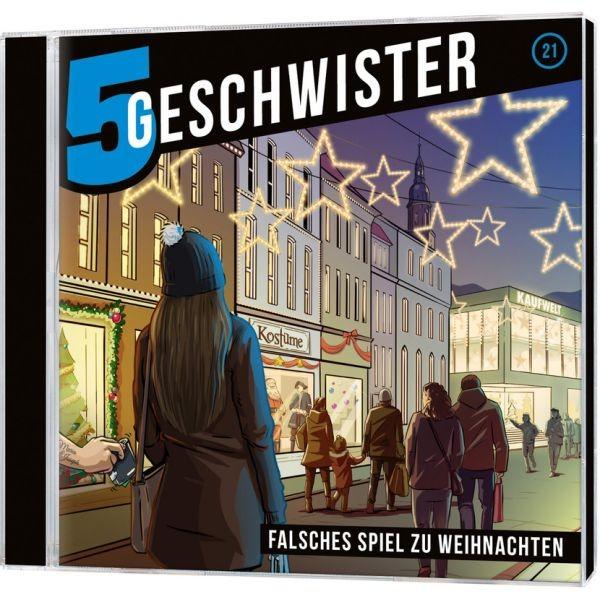 CD Fünf Geschwister - Falsches Spiel zu Weihnachten