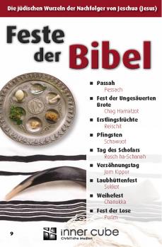 Feste der Bibel - Studienfaltkarte 9