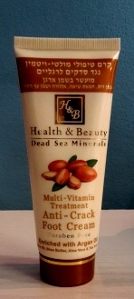 Health & Beauty - Multi Vitamin Fußpflegecreme mit Arganöl