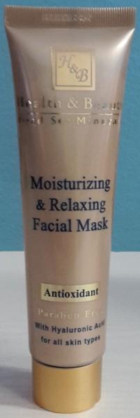 Feuchtigkeitsspendende und entspannende Gesichtsmaske