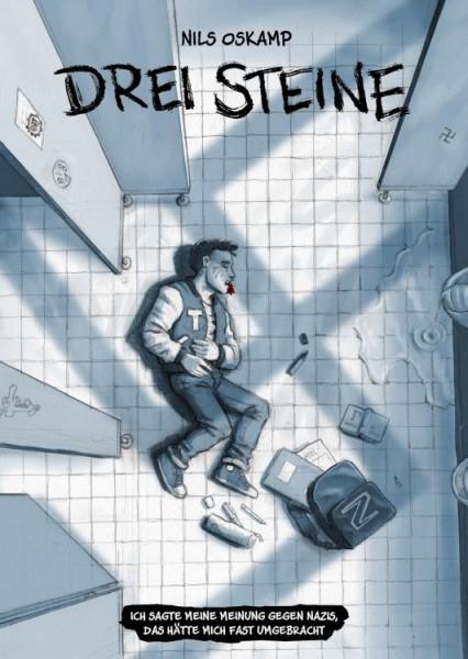 Nils Oskamp, Drei Steine (im Comicstil)
