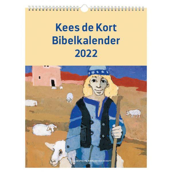Bibelkalender 2022 - Kees de Koort