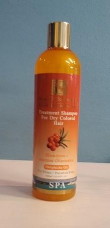 """Health & Beauty - Schampoo (400 ml) """"Sanddornöl"""" für coloriertes und sprödes Haar"""