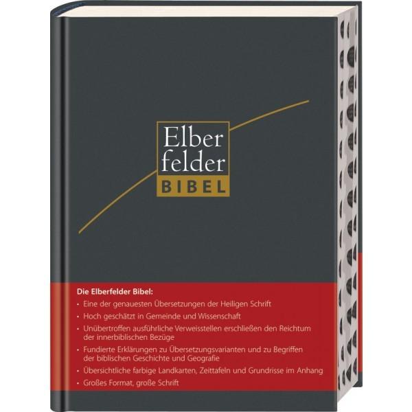 Elberfelder Bibel - Großausgabe, ital. Kunstleder mit Registerstanzung