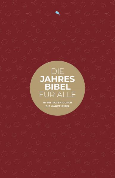 """Die Jahresbibel für alle - """"Red Edition"""" ( HfA )"""