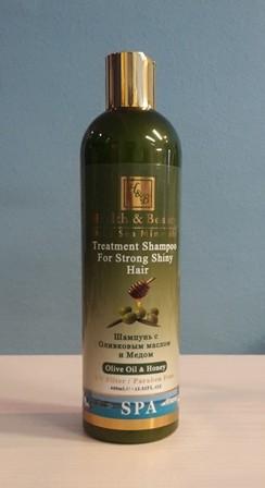 """Health & Beauty - Schampoo( 400 ml ) """"Olivenöl & Honig"""" für jeden Haartyp"""