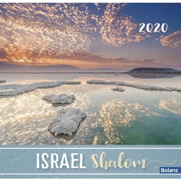 Israel Shalom 2020 - Tischkalender