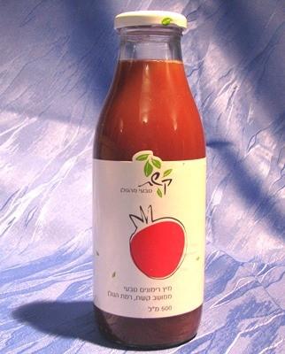 Granatapfelsaft - 100 % reiner Saft und frisch gepresst