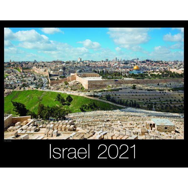 Israel 2021 - Wandkalender - (CLV)