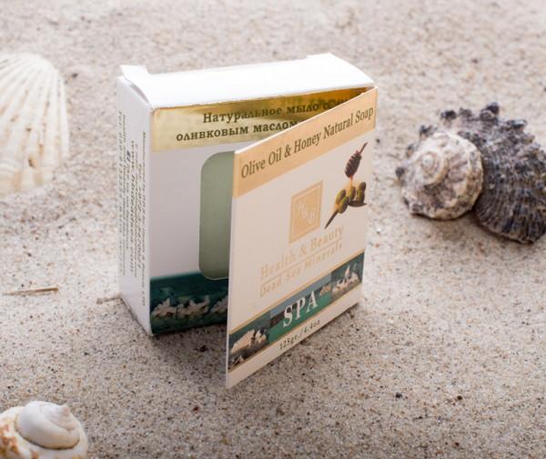 Health & Beauty - Naturseife mit Olivenöl und Honig