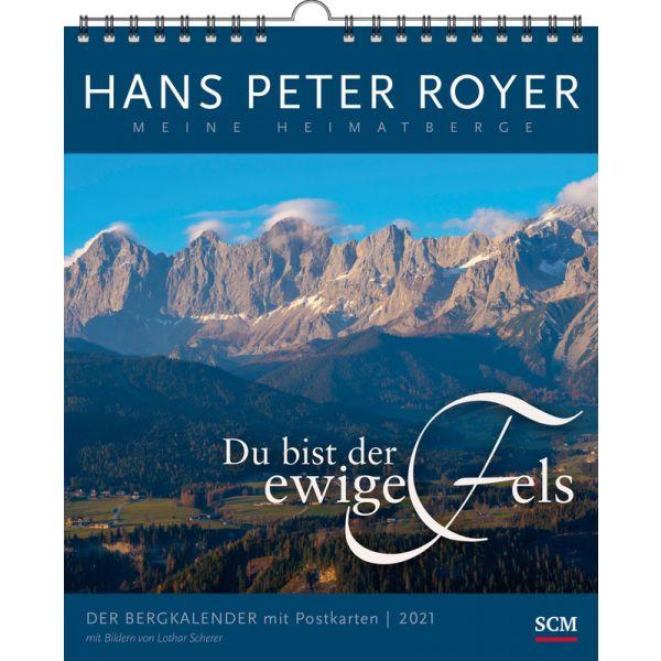 Der Bergkalender 2021 - Postkartenkalender HP Royer