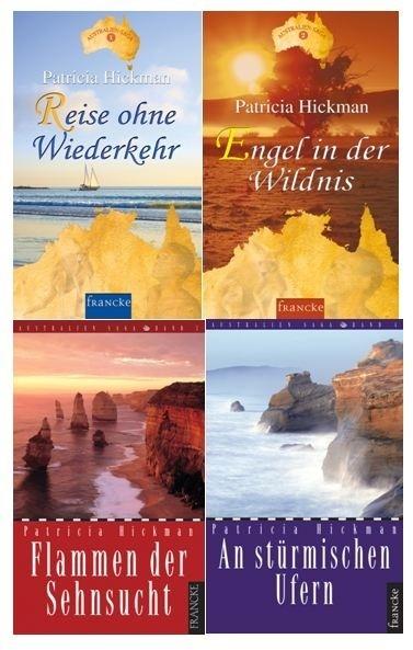 "Buch-Paket ""Australien-Saga"" Band 1-4"