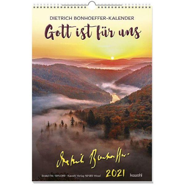 Gott ist für uns 2021 - Wandkalender