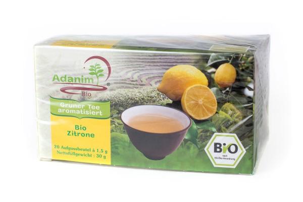 Adanim BIO-Grüner Tee mit Zitrone