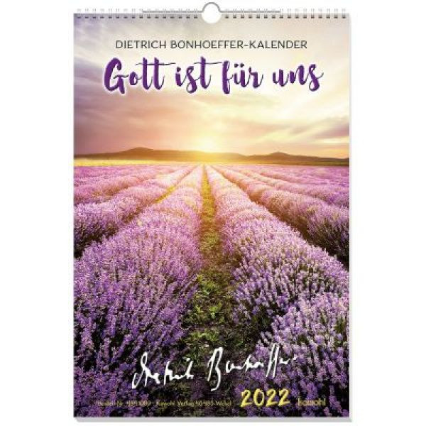 Gott ist für uns 2022 - Wandkalender
