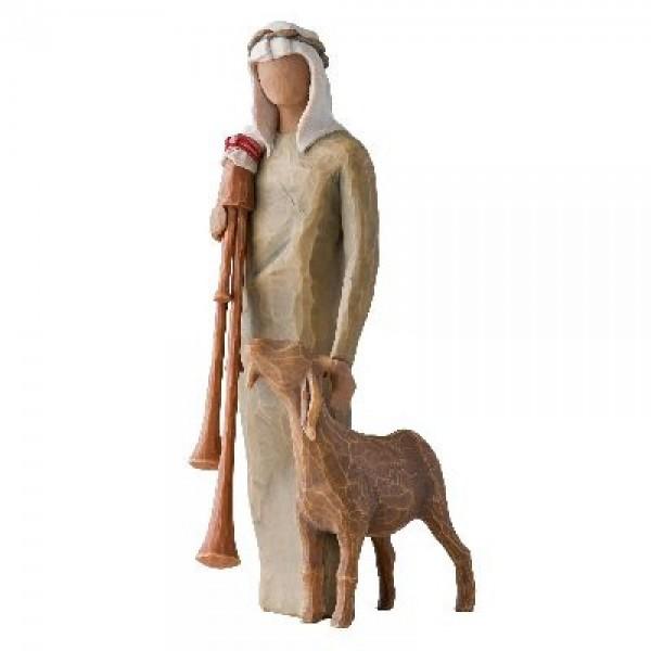 Willow Tree Figur: Hirte mit Dudelsack