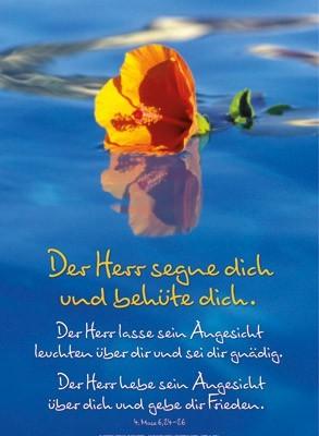 """""""Der Herr segne Dich..."""" Groß-Poster"""