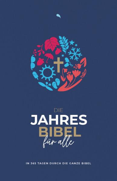 """Die Jahresbibel für alle - """"Blue Edition"""" (HfA)"""